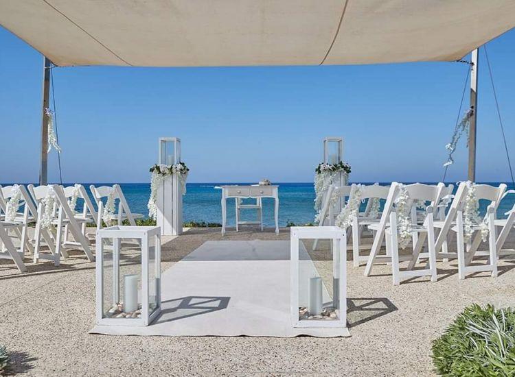 Ανανέωση χώρου τέλεσης γάμων στο Pernera Blue Waters