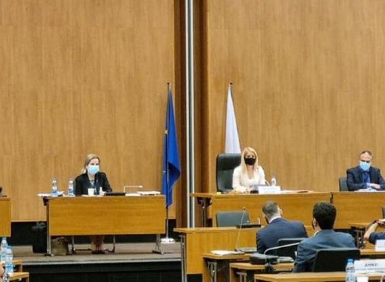 Η πρώτη και νεότερη γυναίκα Πρόεδρος της Βουλής-Η στιγμή της εκλογής της (vid)