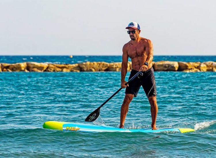 Ο Κύπριος που θα έρθει κωπηλατώντας από την Μύκονο στην Κύπρο (φωτογραφίες)