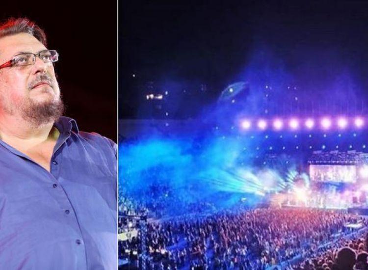 15 τραγουδιστές και χιλιάδες κόσμου τραγούδησαν στο Καλλιμάρμαρο για τον Λαυρέντη Μαχαιρίτσα! «Και τι ζητάω...»