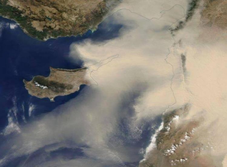 Παραλίμνι: Αυξημένα επίπεδα σκόνης στην ατμόσφαιρα