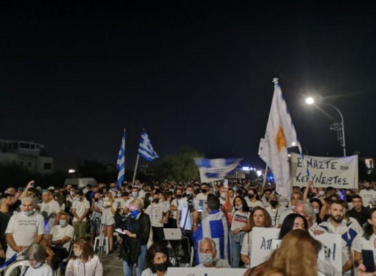 Χιλιάδες κόσμου βροντοφώναξαν για την Αμμόχωστο!