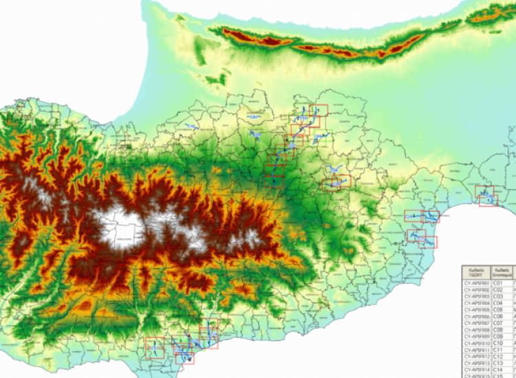 Το Παραλίμνι στις επικίνδυνες περιοχές για πλημμύρες - ΧΑΡΤΕΣ