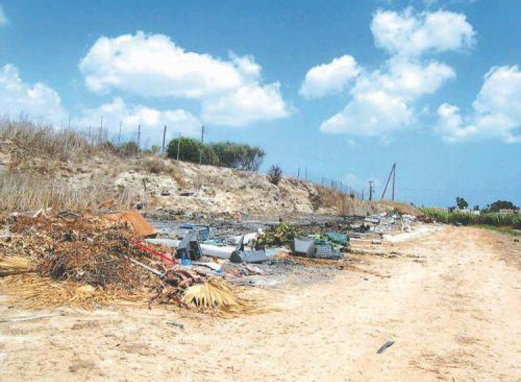 Αμμόχωστος: Τεράστιο πρόβλημα από τα σκουπίδια
