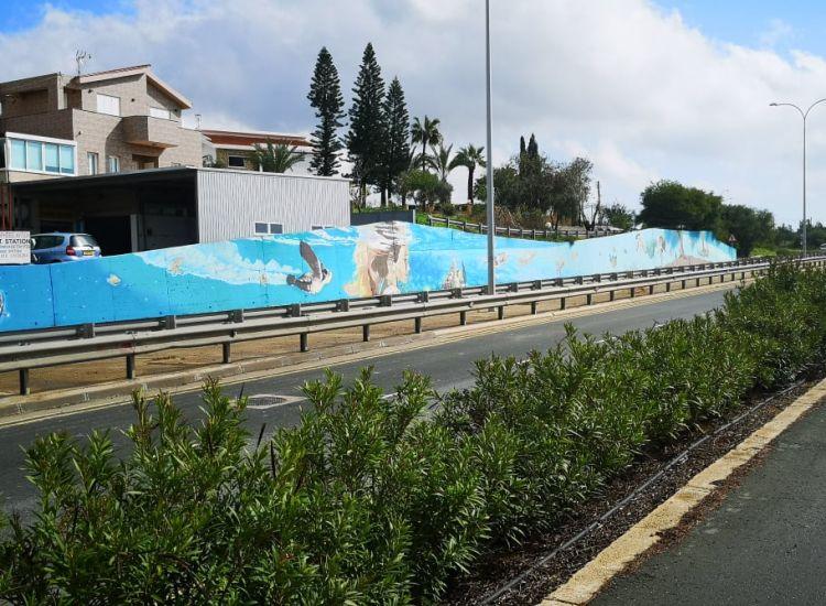 Παραλίμνι: Κατέστρεψαν το μεγαλύτερο γκράφιτι της Κύπρου (photos)