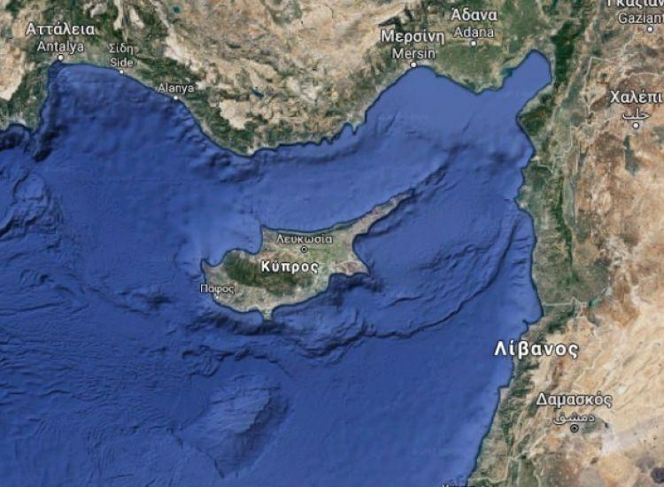 Κύπρος: Στους 5,4 βαθμούς ρίχτερ ο σεισμός