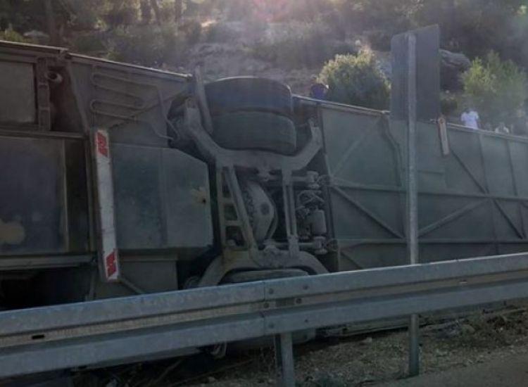 Νεκροί σε δυστύχημα Τούρκοι στρατιώτες στο δρόμο για κατεχόμενα (ΦΩΤΟ/ΒΙΝΤΕΟ)