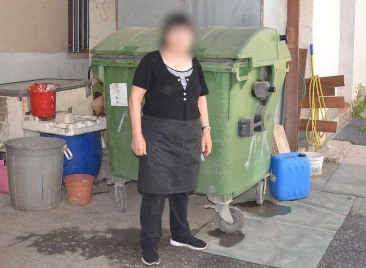 Μια ύποπτη βαλίτσα στα σκουπίδια – Ένα περίεργο περιστατικό αφηγείται ιδιοκτήτρια εστιατορίου