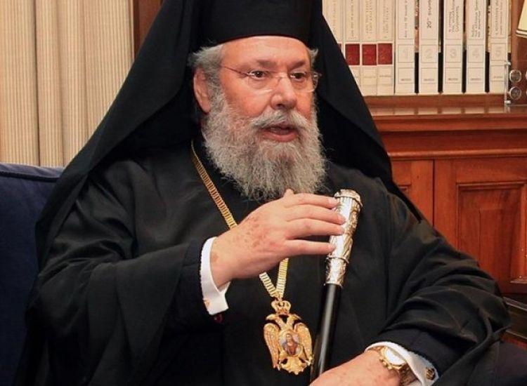 Αρχιεπίσκοπος για εμπλοκή Εκκλησίας: Όποιου δεν αρέσει να πέσει χώρκα του