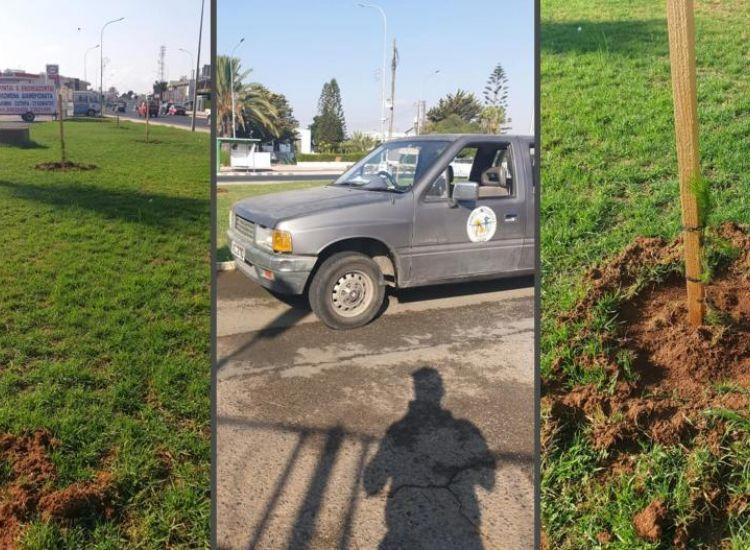 Καραγιάννης: Γι΄αυτό εκριζώθηκαν τα πεύκα  που φυτεύτηκαν μπροστά στην Πυροσβεστική Αμμοχώστου