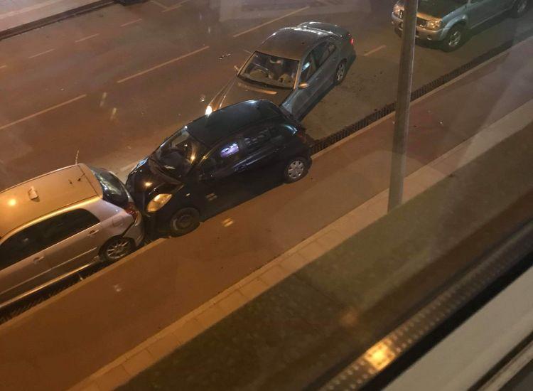 Τροχαίο ατύχημα στο Παραλίμνι (photos)