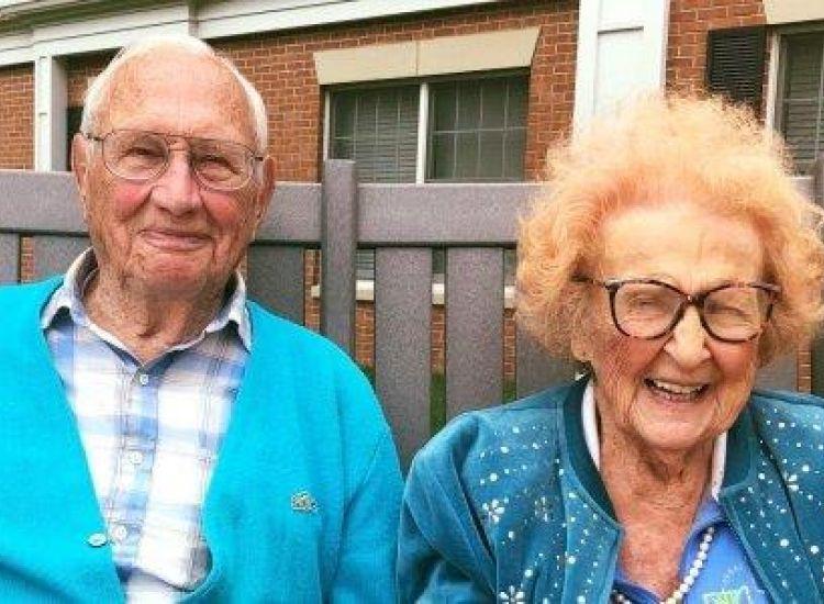 Ο έρωτας χρόνια δεν κοιτά-Αυτός 100, εκείνη 103 παντρεύτηκαν και ζουν αγαπημένοι
