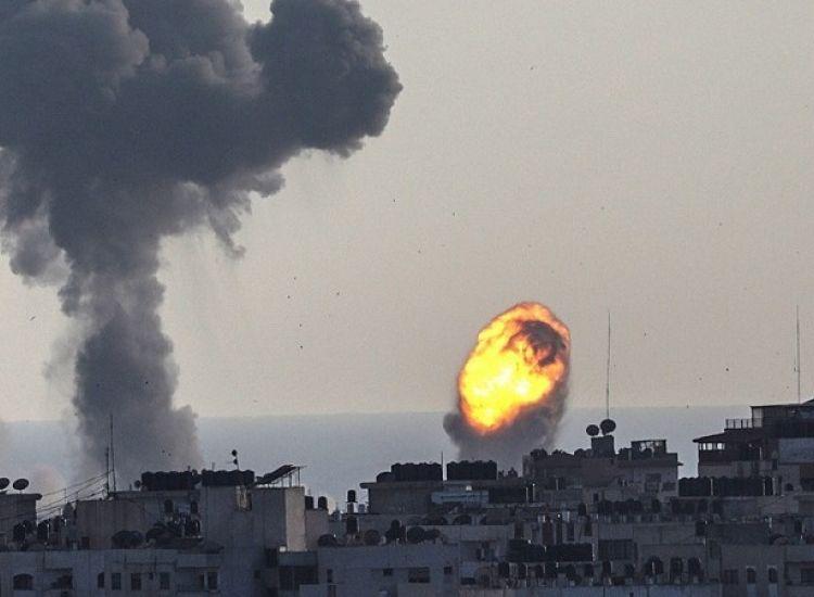 Ισραηλινά αεροπορικά πλήγματα στη Λωρίδα της Γάζας