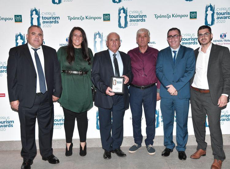 Επ. Αμμοχώστου: Χρυσό Βραβείο στην εταιρεία Μύλοι Χατζηγιώρκη στα Βραβεία Κυπριακού Τουρισμού 2020