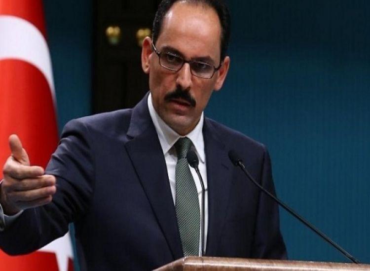 """Ιμπραχίμ Καλίν: """"Υπάρχουν αμφισβητήσιμες περιοχές και στην Κύπρο"""""""