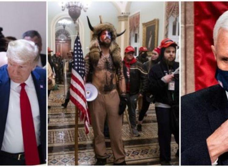 Το οικογενειακό πάρτι Τραμπ πριν το ντου στο Καπιτώλιο και η θύελλα αντιδράσεων