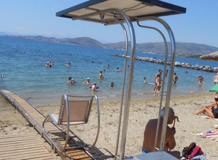 Παραλίμνι: Δύο συστήματα sea track για άτομα με κινητικά προβλήματα σε παραλίες