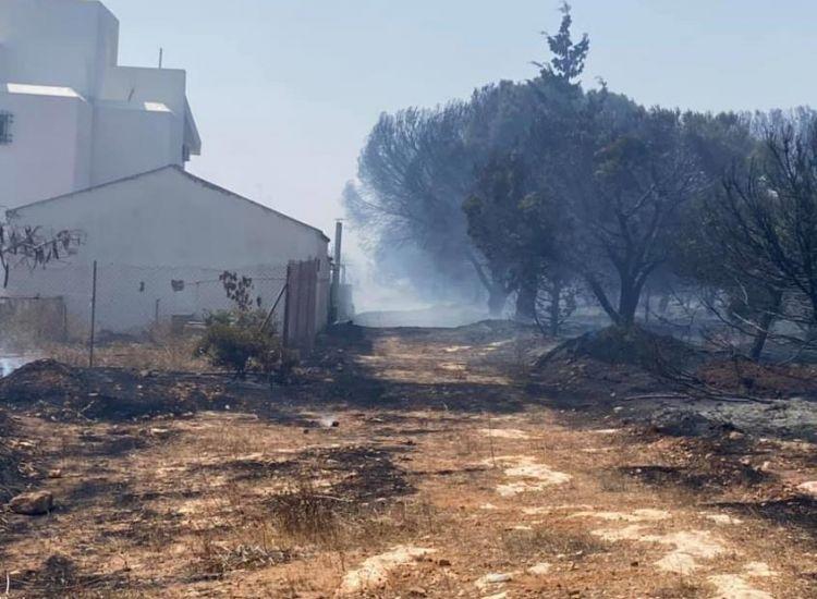 Έκτακτο: Διπλό μέτωπο πυρκαγιάς στην Αγία Νάπα