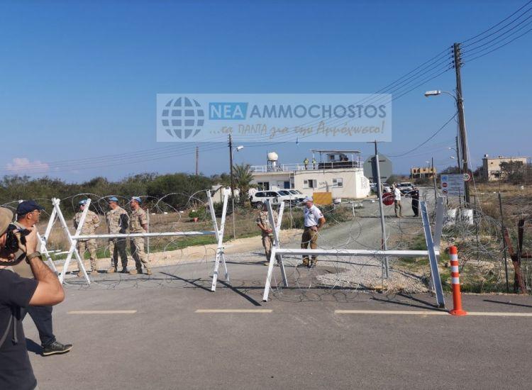 Δερύνεια: Σε δύο μήνες η μόνιμη υποδομή στο οδόφραγμα