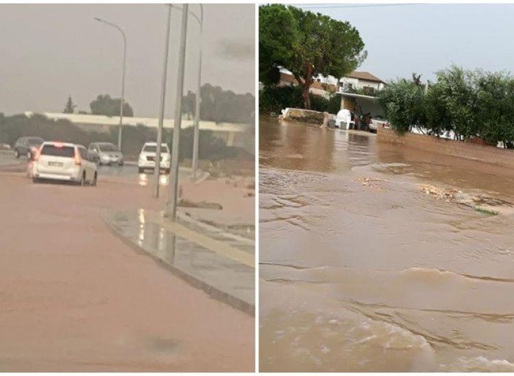 Βίντεο από τις πλημμύρες στη Σωτήρα
