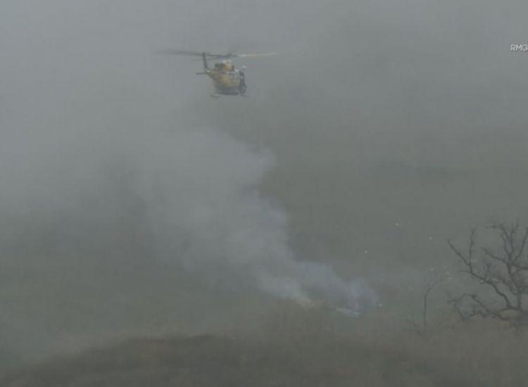 Το σημείο που έπεσε το ελικόπτερο του Κόμπι (pics)