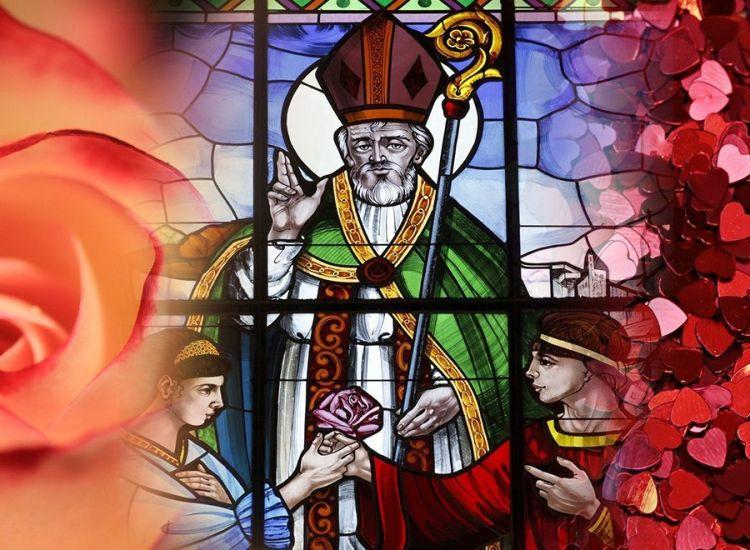 Ποιος είναι ο Άγιος Βαλεντίνος και γιατί γιορτάζει ο έρωτας στις 14 Φεβρουαρίου
