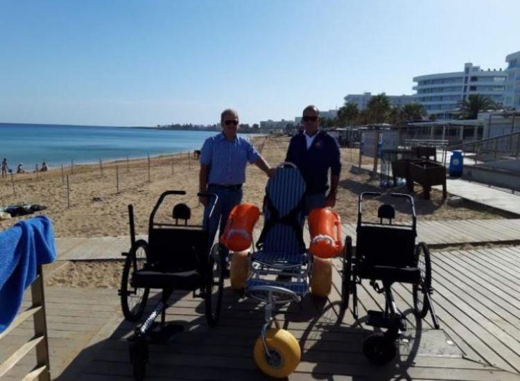 Παραλίμνι: Τρίτροχα τροχοκαθίσματα για άτομα με αναπηρία