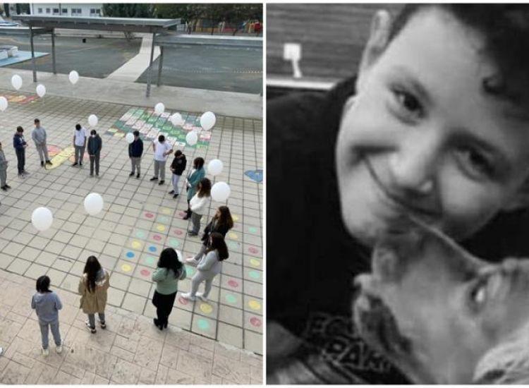 Παραλίμνι: Συγκίνηση στο σχολείο του μικρού Ιάκωβου - «Δεν θα σε ξεχάσουμε ποτέ»