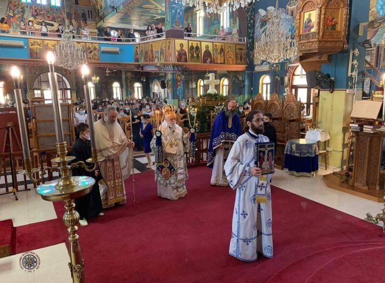 Λιοπέτρι: Φωτογραφίες από την Αρχιερατική Θεία Λειτουργία στον Ιερό Ναό Παναγίας Ελεούσης