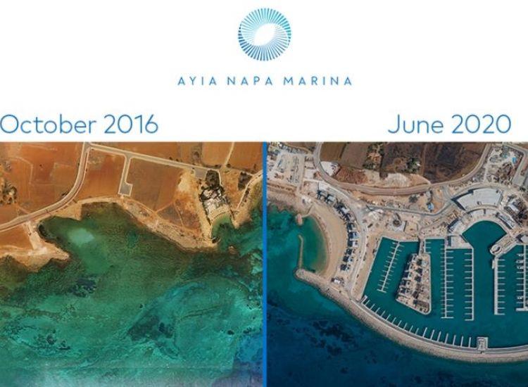 Εντυπωσιακή η πρόοδος στη Μαρίνα Αγίας Νάπας (Εικόνες)