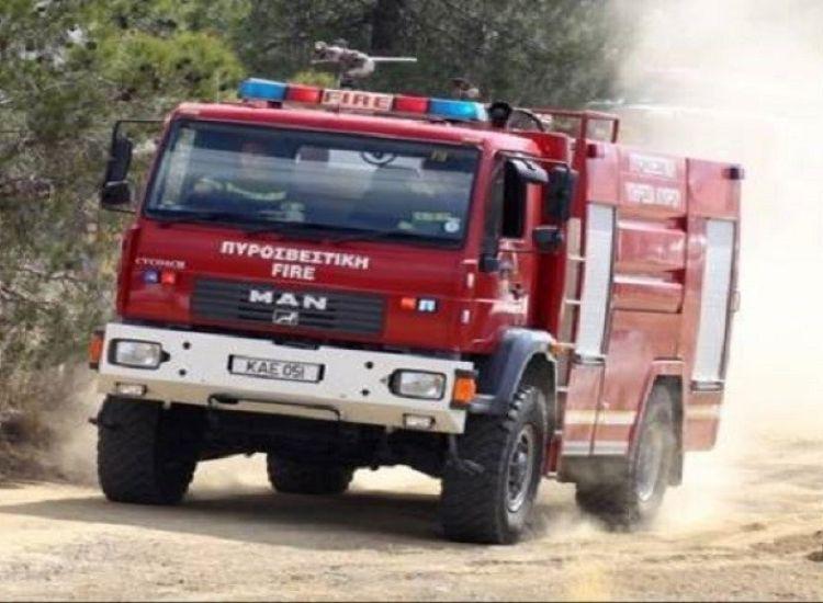 Πυρκαγιά Πρωταρά - Αγίας Νάπας: Κατέκαψε 1,2 εκτάρια γης η φωτιά