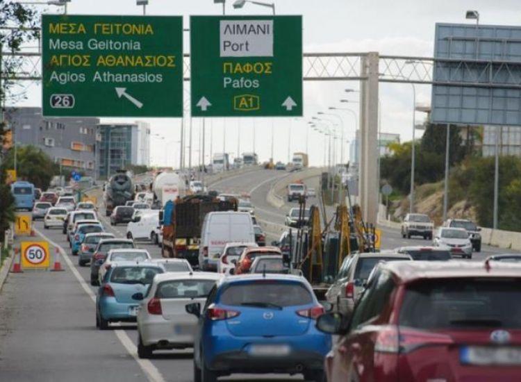 Άρχισαν οι εξορμήσεις ενόψει τριημέρου-Πυκνή τροχαία κίνηση στους αυτοκινητόδρομους