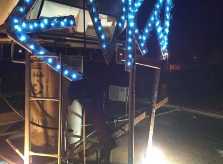 BINTEO: Με φωτοβολίδες και πυροτεχνήματα γιόρτασαν στο Λιοπέτρι την 1η Απριλίου