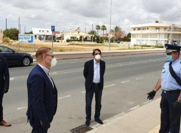 Επ. Αμμοχώστου: Εντείνονται οι έλεγχοι της Αστυνομίας