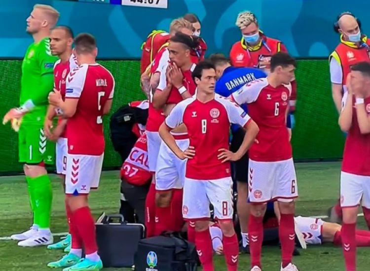 Έρικσεν - UEFA: «Στο νοσοκομείο και σε σταθερή κατάσταση»