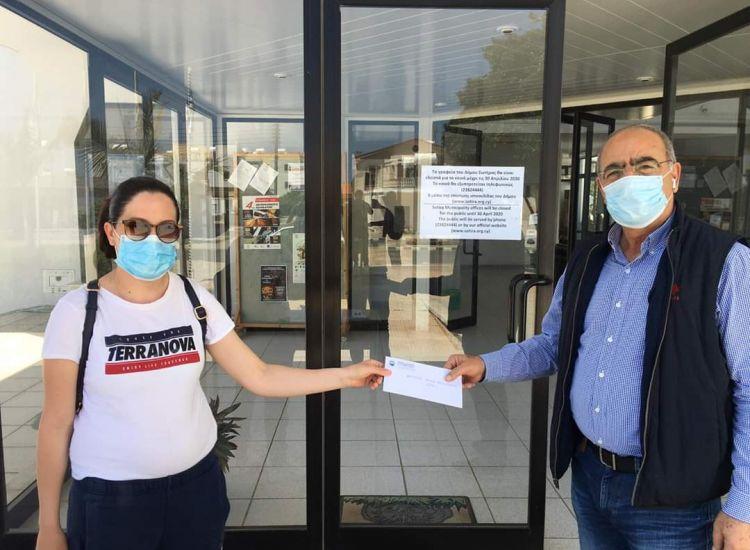 ΓΝ Αμμοχώστου: Χρηματική βοήθεια 500 ευρώ από τον Δήμο Σωτήρας