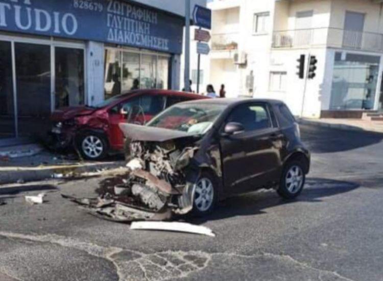 Τροχαίο ατύχημα στο Παραλίμνι