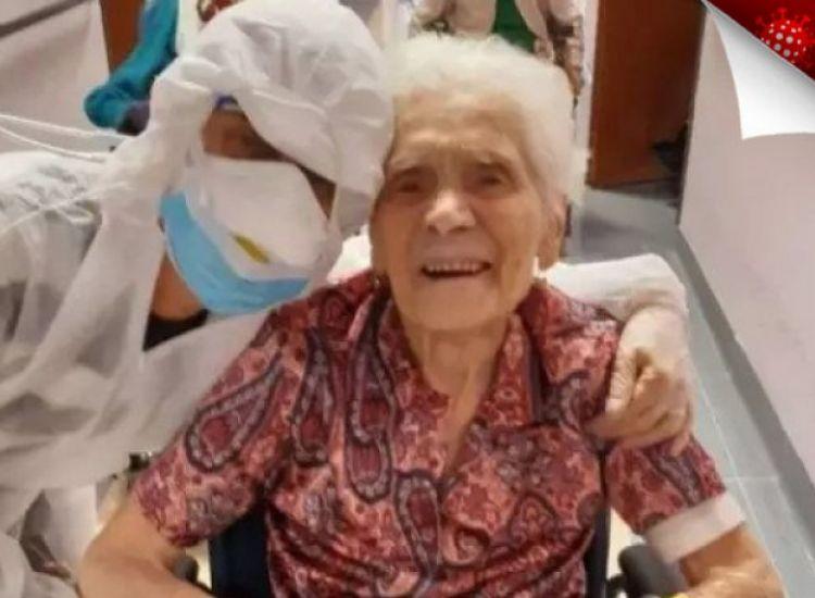 Ιταλία: Η γηραιότερη ασθενής που νίκησε τον κορονοϊό είναι 103 ετών!