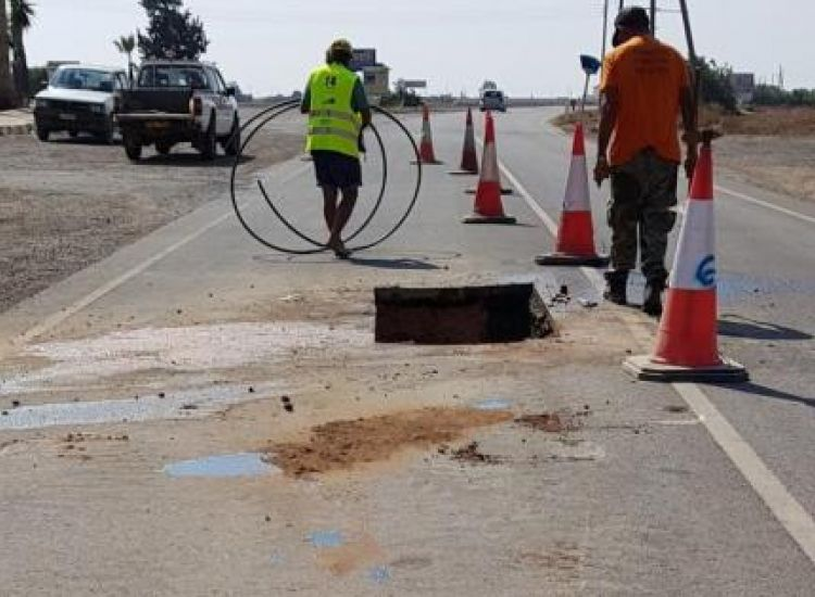 Αμμόχωστος: SOS για το οδικό δίκτυο εκπέμπουν πέντε κοινοτάρχες