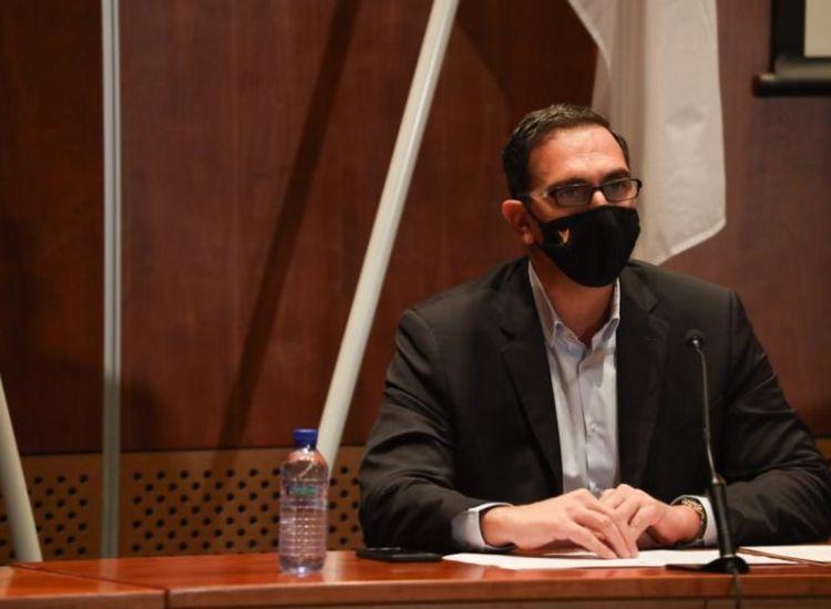 Ο Κ. Ιωάννου απαντάει σε ερωτήσεις για την Α' φάσης της αποκλιμάκωσης των περιορισμών