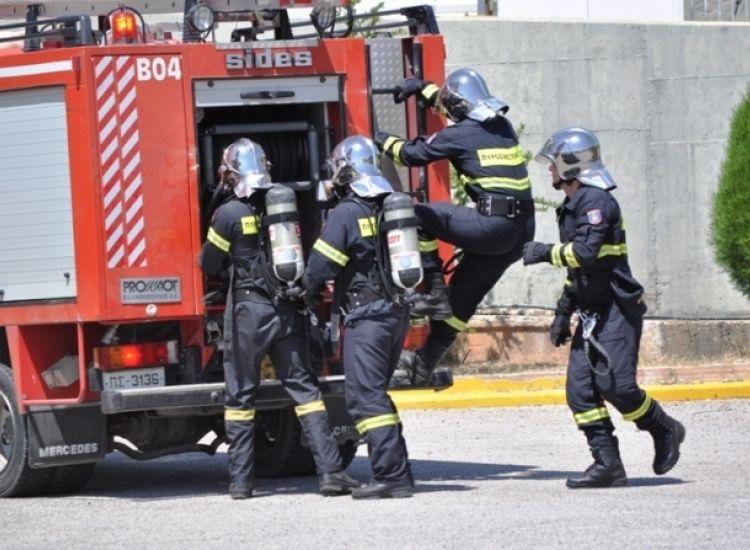 Αγία Νάπα: Πυρκαγιά σε αποθήκη στο αποχετευτικό