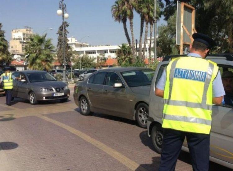 Καταγγέλλει από σήμερα η Αστυνομία για τις άδειες κυκλοφορίας