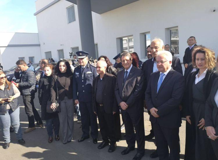 Παραλίμνι: Εγκαινίασε το νέο κτίριο της Αστ. Διεύθυνσης Αμμοχώστου ο ΠτΔ