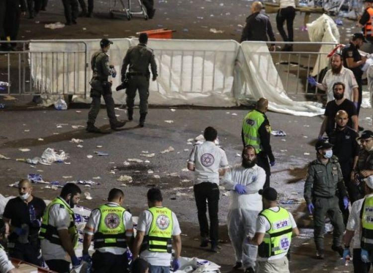 Τραγωδία σε προσκύνημα στο Ισραήλ: Δεκάδες νεκροί σε μαζικό ποδοπάτημα (vids)