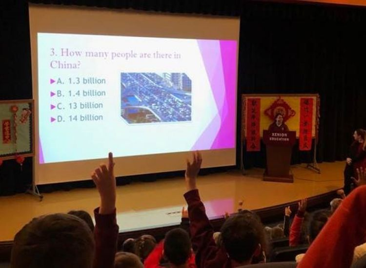 """Παραλίμνι: """"Κινεζάκια"""" για μια ημέρα οι μαθητές του Xenion!"""