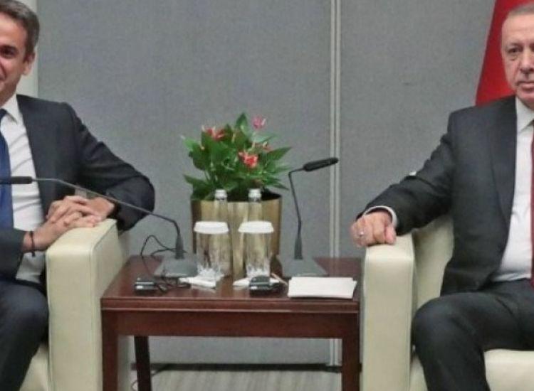 Τηλεφωνική επικοινωνία Μητσοτάκη-Ερντογάν: Συζήτησαν για την πανδημία