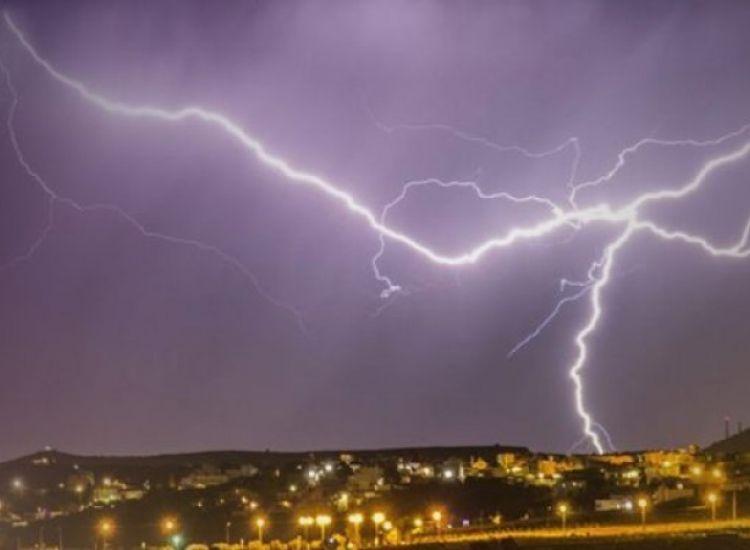 Θερμικές καταιγίδες θα επηρεάσουν την Κύπρο