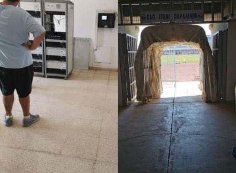 Παραλίμνι: Αρχίζουν τα βελτιωτικά έργα στο Αθλητικό Κέντρο Τάσος Μάρκου