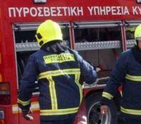 Δερύνεια: Φωτιά σε διαμέρισμα - Διασώθηκε σκυλάκι από την Πυροσβεστική
