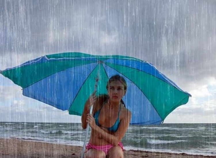 Kαταρρακτώδεις βροχές στον Πρωταρά!(VIDEO)